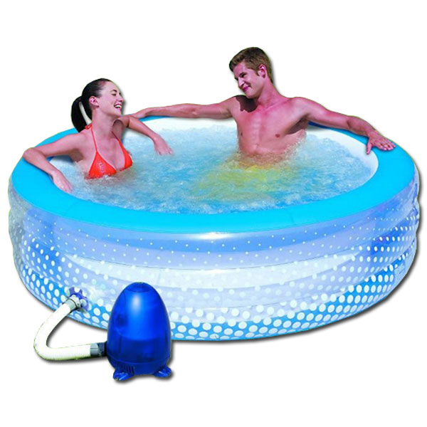 Spa hinchable relax bubble outlet piscinas for Piscinas desmontables hinchables