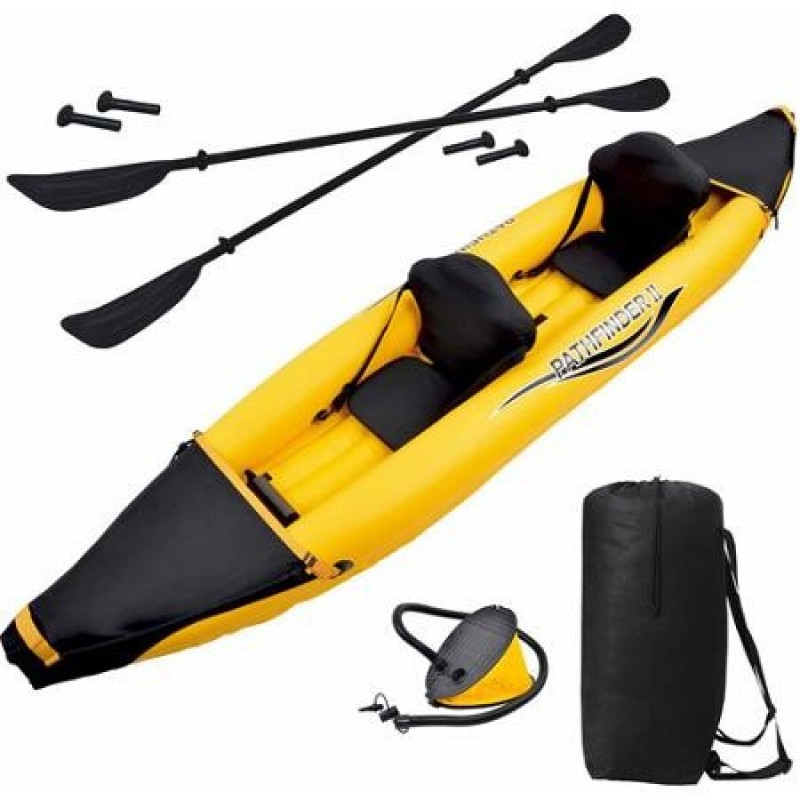 Kayak hinchable pathfinder 2 outlet piscinas for Piscina canoe