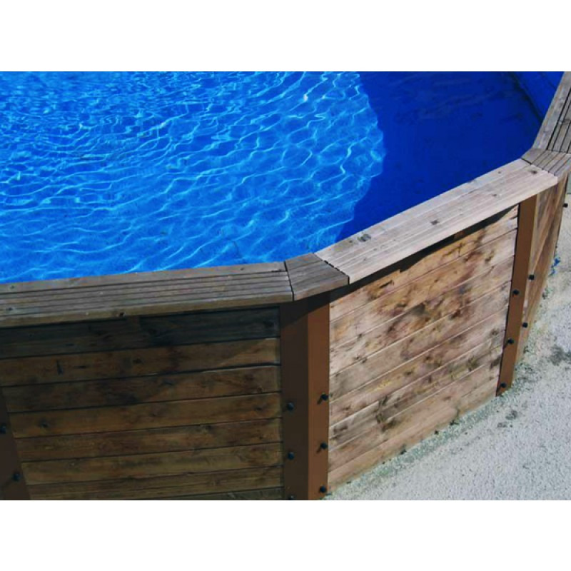 Piscina madera nativa outlet piscinas for Oulet piscinas