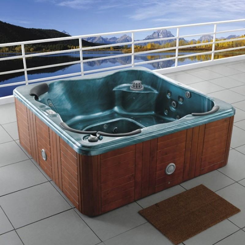 Spa tailandia outlet piscinas for Jacuzzi exterior enterrado