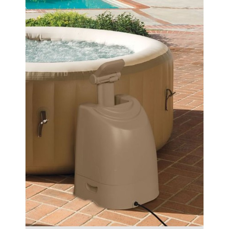 Spa hinchable intex purespa bubble therapy 28402ed for Jacuzzi exterior enterrado