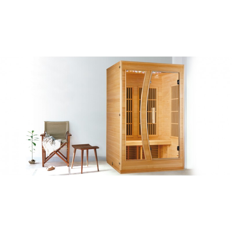 sauna infrarrojo star a 2 plazas outlet piscinas. Black Bedroom Furniture Sets. Home Design Ideas