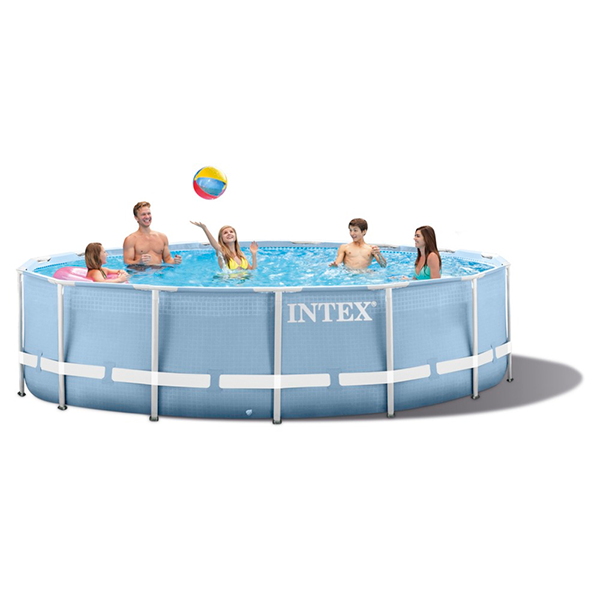 Piscina intex prisma frame 457 x 122cm outlet piscinas for Piscina 457 x 122