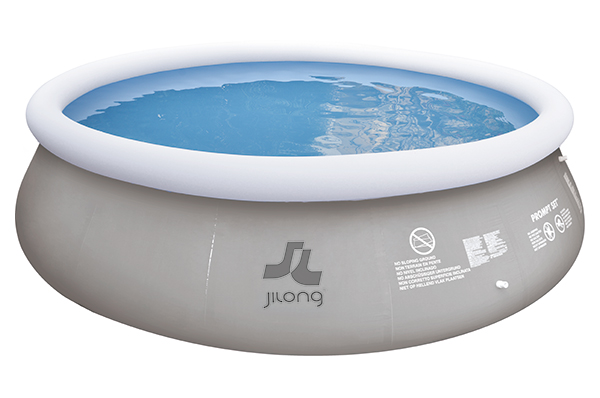 Piscina hinchable mar n grey 360x80cm outlet piscinas - Depuradora piscina hinchable ...