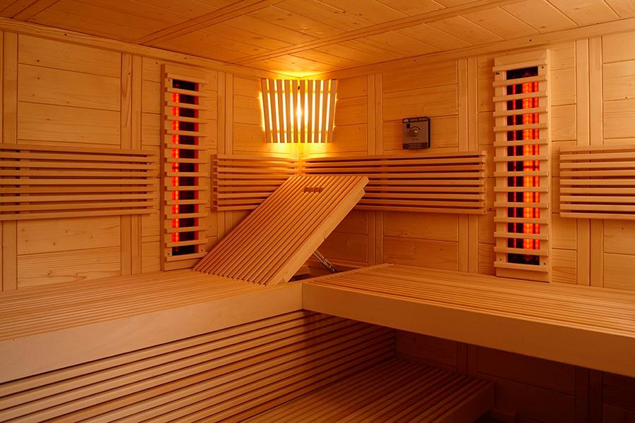 sauna de infrarrojos alaska corner