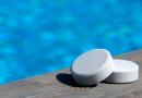 cloro para desinfectar la piscina