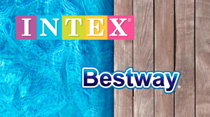 intex o bestway fabricantes piscinas