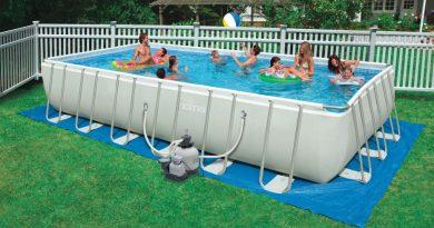 ¿Cuánto espacio es necesario para una piscina?