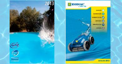 catálogos fabricantes piscinas 2013