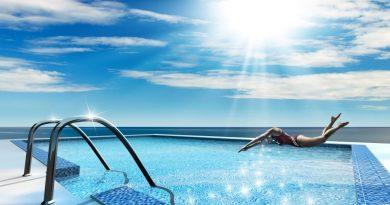 Mantenimiento del agua de la piscina