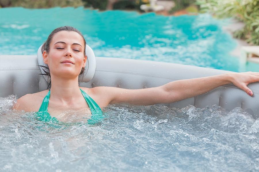 Cómo mantener el agua del spa