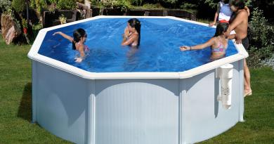 piscina desmontable acero de gre