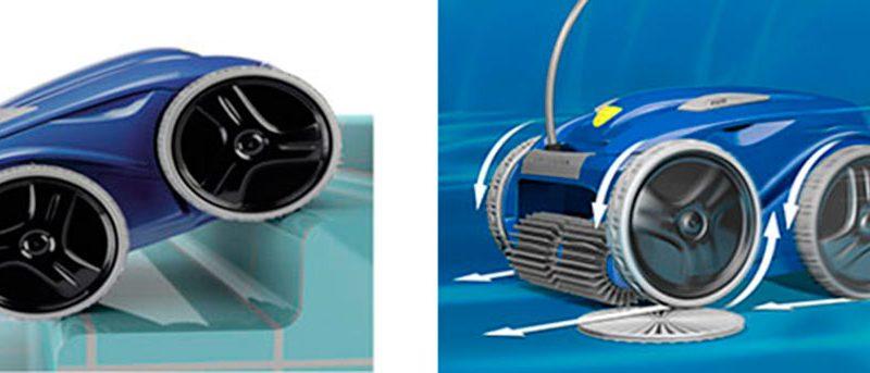 Limpiafondos RV 5380 Vortex Pro 4WD