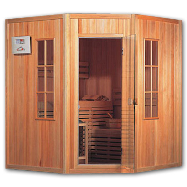 Como Construir Uma Sauna. Sauna Com De Madeira. Imagem Intitulada ...