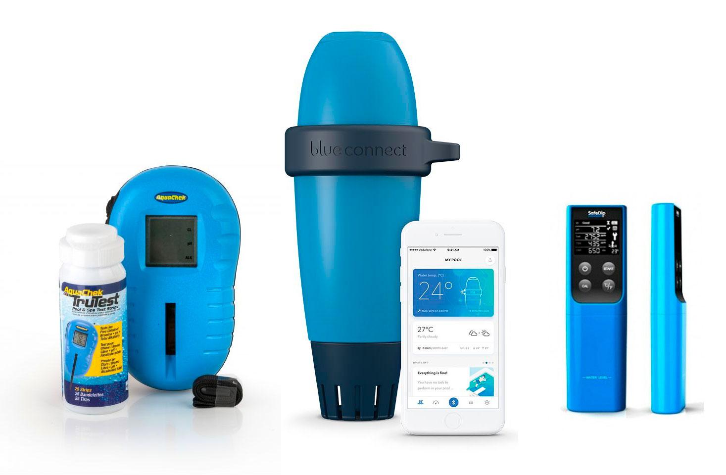 Analizadores digitales pH piscina