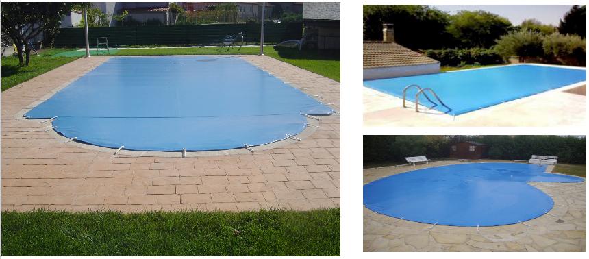Cobertores de invierno para piscinas