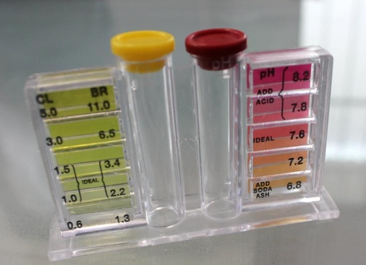 Medidor de pH agua piscina