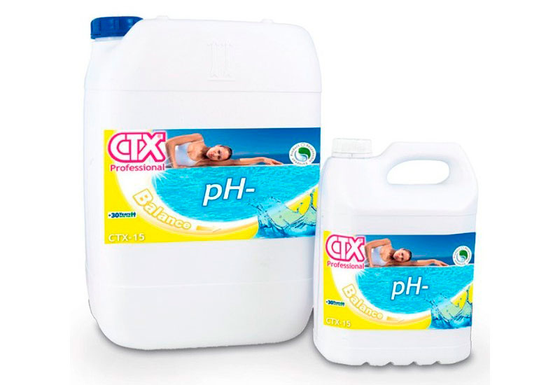 Minorador de pH de piscina