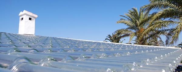 Tejas solares de cristal SolTech