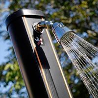 Rociador Ducha Solar Aluminio 32l