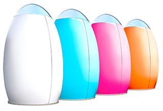 Ducha UOVO con WC Colores disponibles