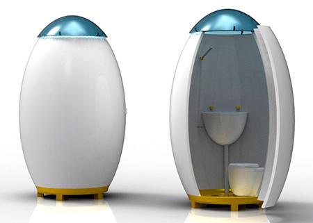 Ducha UOVO con WC