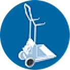 Limpiafondos Eléctrico Dolphin Diagnostic Carro transportador