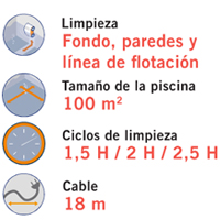 Limpiafondos h7 duo astralpool outlet piscinas for Limpiafondos piscina baratos