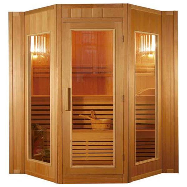 Sauna vapor malaga 4 personas outlet piscinas - Madera para sauna ...