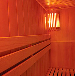 Sauna Milan 4 Interior