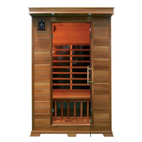 Sauna infrarrojos bilbao 2 plazas outlet piscinas - Calentador para sauna ...