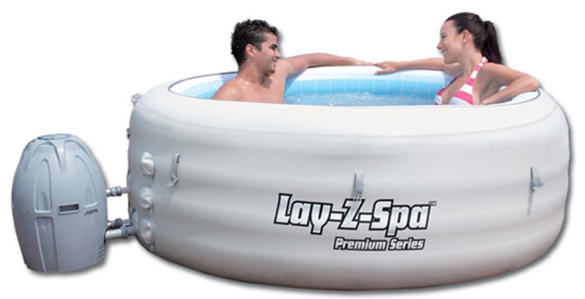 Lay z spa spa hinchable bestway outlet piscinas for Spa hinchable alcampo