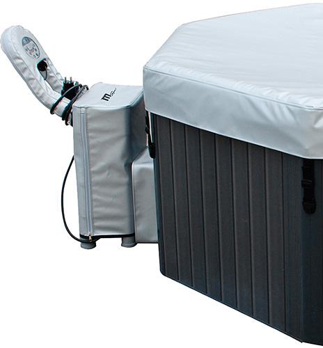 Cubierta impermeable para panel de control del spa