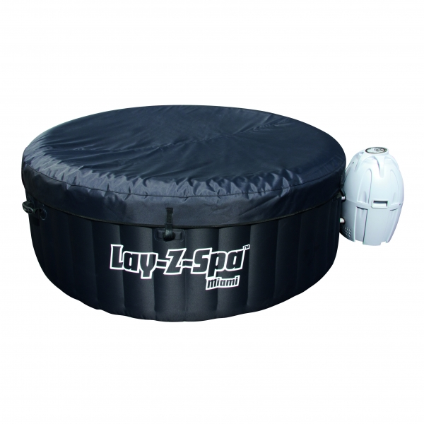 Spa Hinchable Lay Z Black