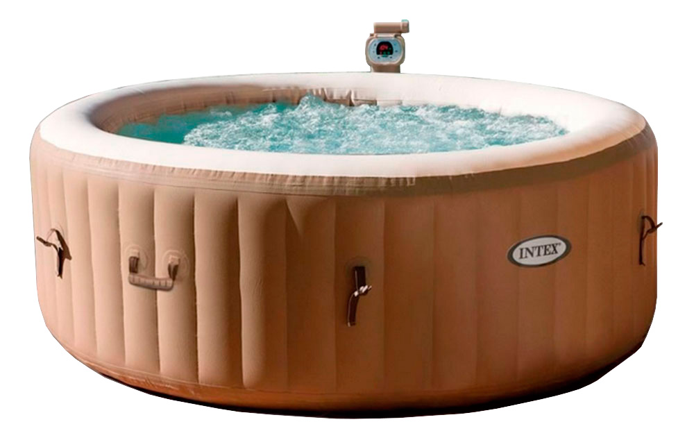 Spa hinchable intex purespa bubble therapy 28402ed for Piscinas intex precios