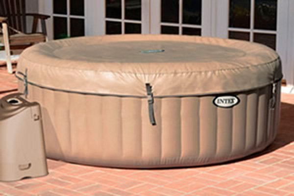 Spa Hinchable INTEX - 4 Plazas Cubierta Superior
