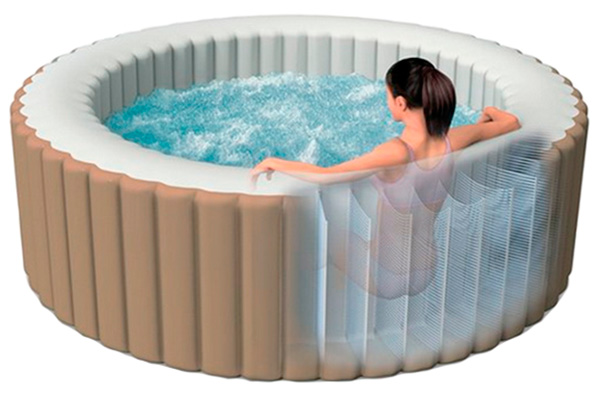 Tecnologia Fiber-Tech Spa Intex