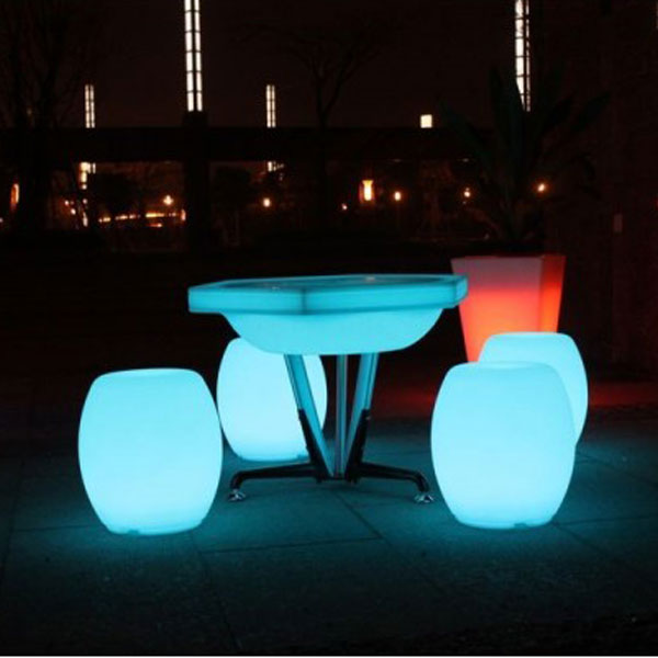 Asiento Tambor Luminoso LED
