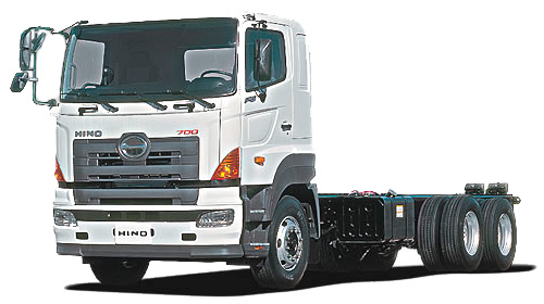 Camión para transportar piscinas de fibra