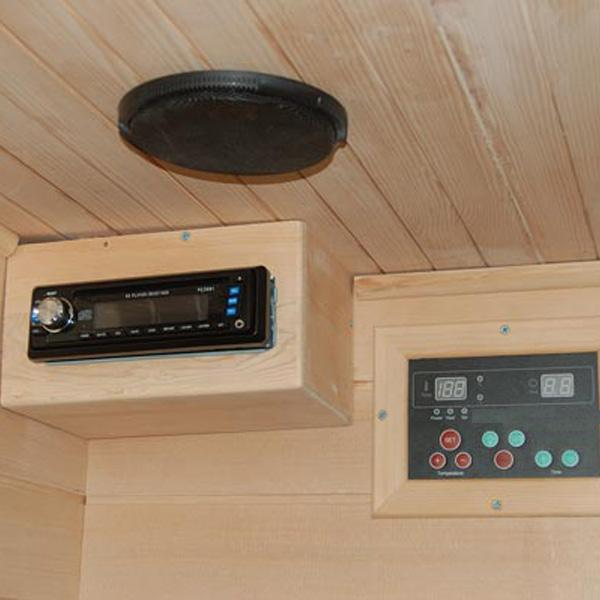 Sauna Bilbao Reproductor CD/ radio FM