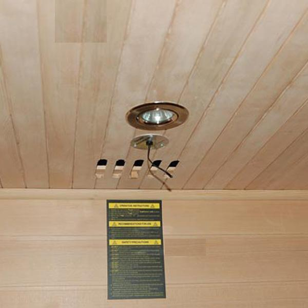 Sauna Bilbao Luz Interior