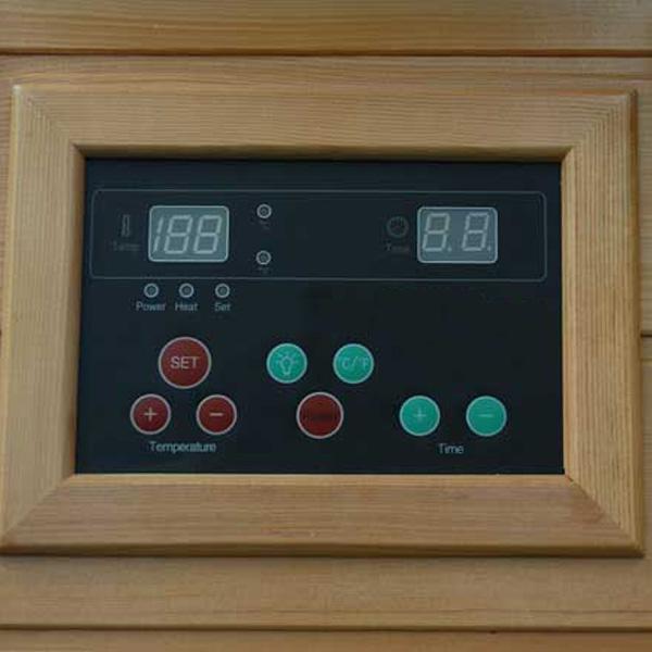 Sauna Bilbao Panel de Control
