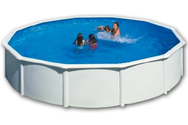 Piscina acero gre varadero circular outlet piscinas - Instalacion de una piscina ...