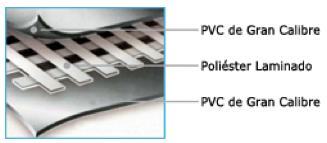 Piscina Splash Frame Liner PVC