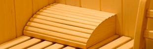 Reposacabezas de madera  (* opcional)