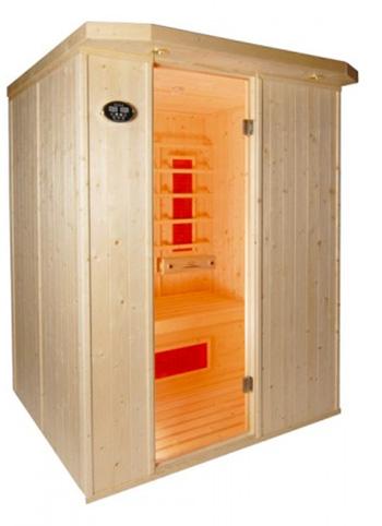 Sauna infrarrojos London 3 plazas