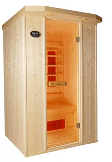 Sauna infrarrojos London 2 plazas