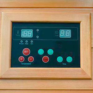 Suna de Infrarrojos Quebec panel de control
