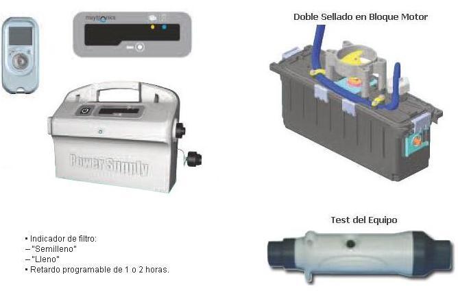 Limpiafondos Eléctrico Zenit 30 accesorios incluidos