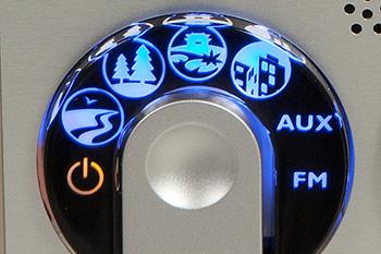 Solarium Innergize HP 8565 Panel de control